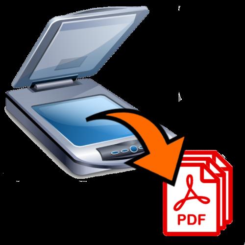 Объединение отсканированных изображений в PDF-файл
