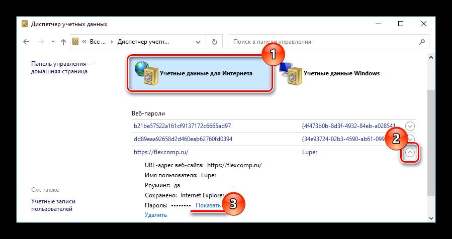 Где хранятся пароли в internet explorer-08