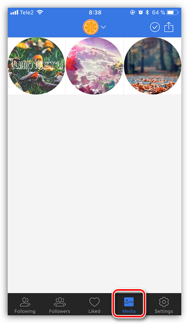 Как удалить сразу все фото в Инстаграм_3