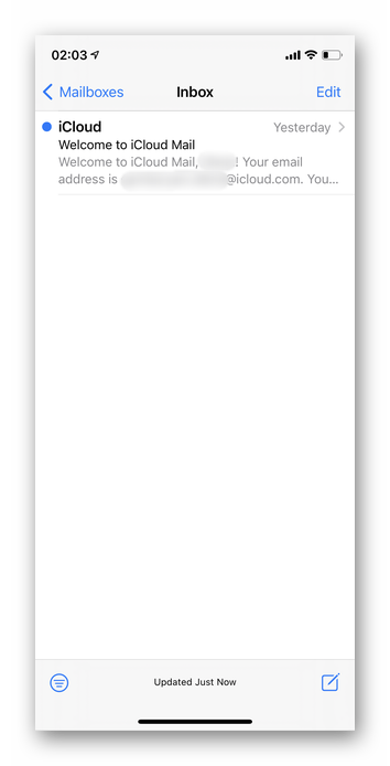Как зайти на почту iCloud с Айфона 16